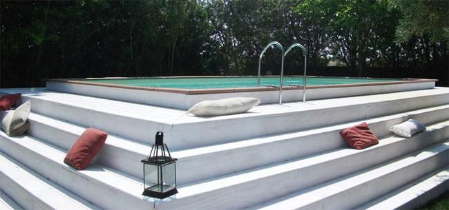 Piscine fuori terra aepiscine - Rivestire piscina fuori terra fai da te ...