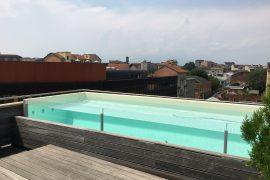 piscina vetro