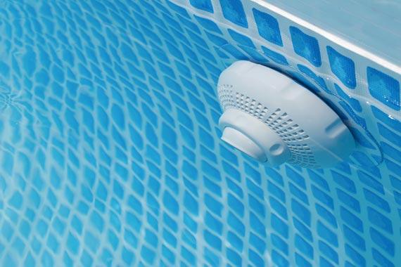 La pressione del filtro della piscina è bassa