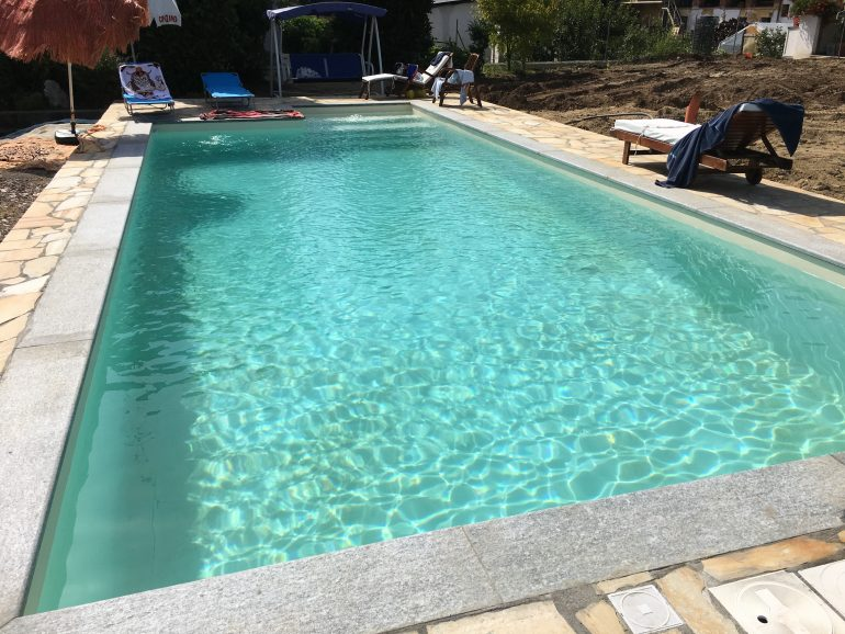Oggi la tua piscina interrata misure 10x5 altezza 1 5m a for Piscine in offerta