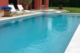 piscina interrata con ara relax