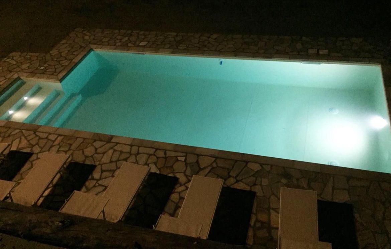 costruzione piscina interrata con isoblok