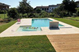 costruzione piscina interrata